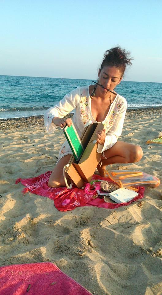 La Carpeta Silla, En la Playa