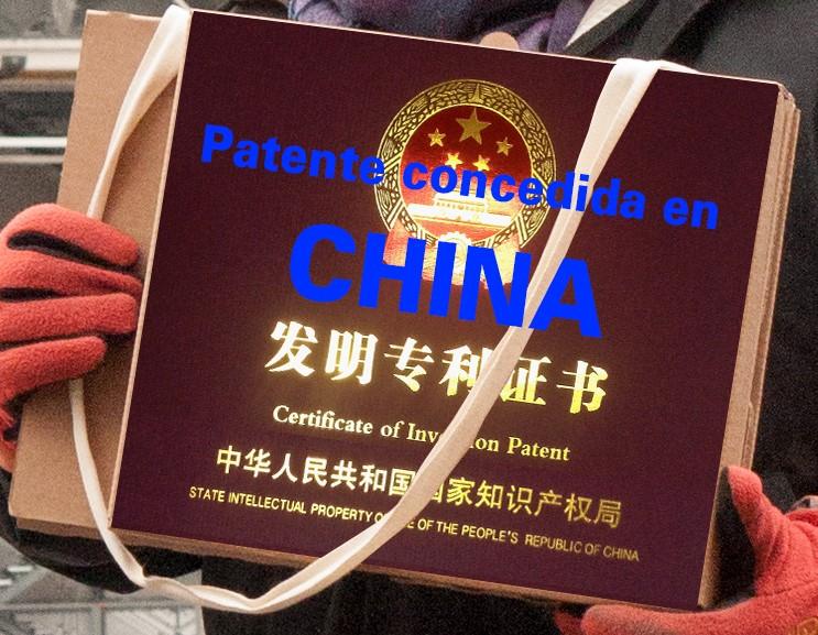 Tenemos la Patente en China!
