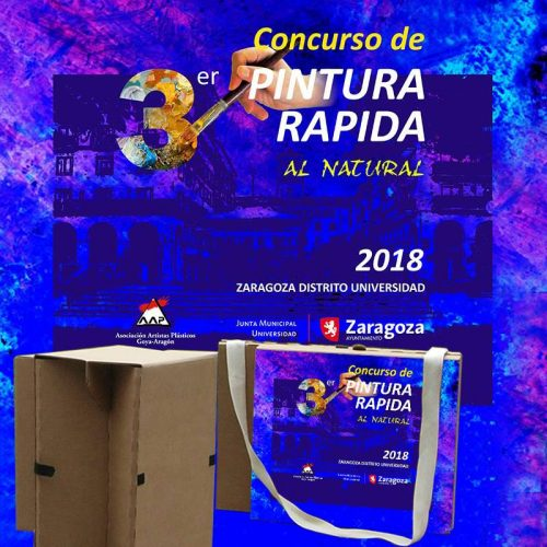 """3º Concurso de Pintura Rápida """"Al Natural"""","""