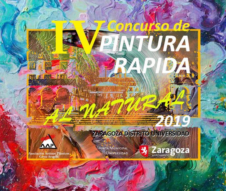 """Concurso de Pintura Rápida """"Al Natural"""", que organiza el Distrito Universidad."""